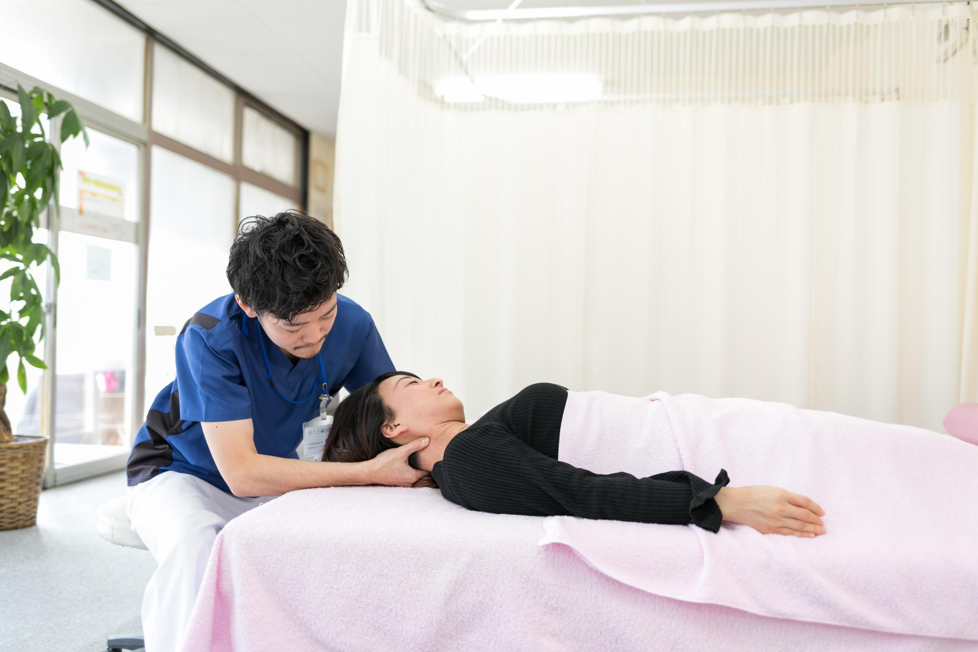 首の痛み|郡山まこと鍼灸整骨院