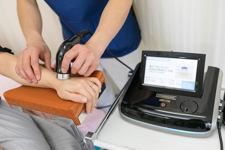 超音波治療機器|郡山まこと鍼灸整骨院